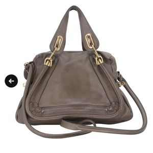 Chloe Paraty Olive Medium Handle Bag